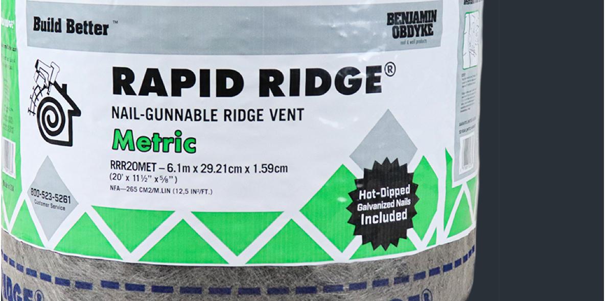 Featured Rapid Ridge Metric