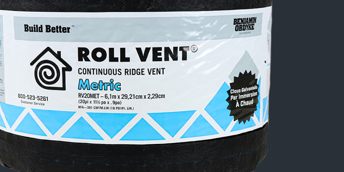 Featured Roll Vent Metric