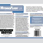 hydroflashla packaging opened
